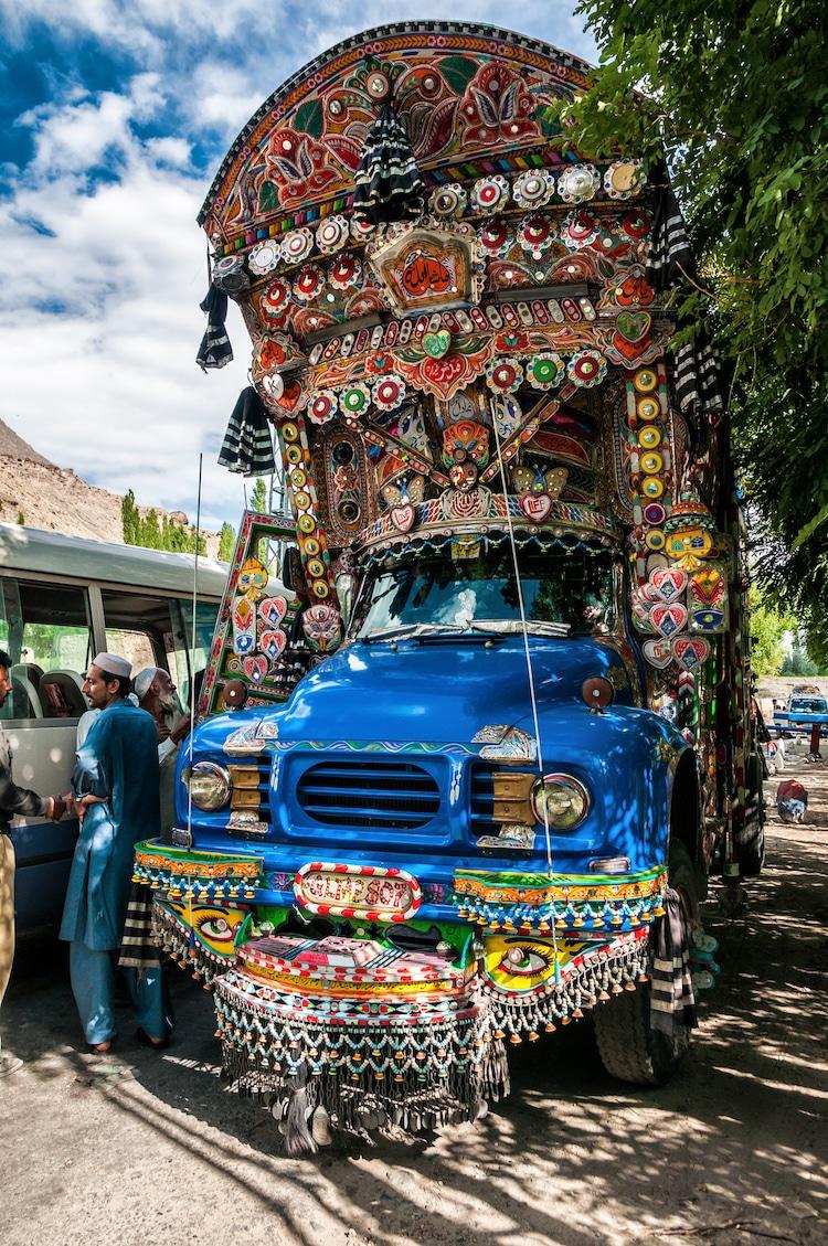 xe tải leng keng ở Pakistan 8