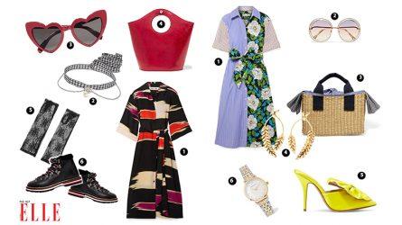 ELLE Style Calendar: Những chiếc đầm sơmi bừng tỏa tính nữ giữa mùa hạ (15/4 - 21/4)