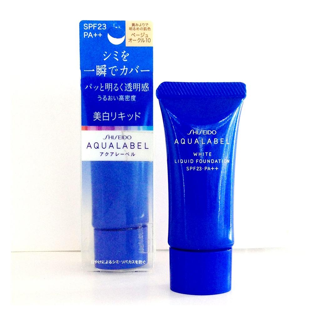 Kem lót nào tốt Shiseido Aqualabel Primer 4