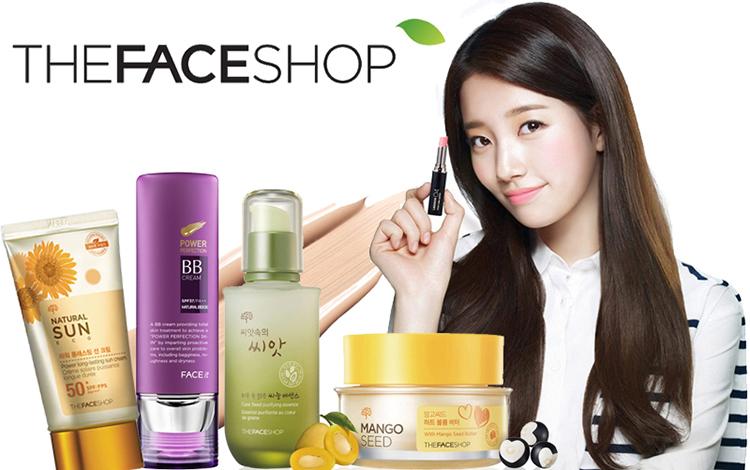 Mỹ phẩm thiên nhiên The Face Shop