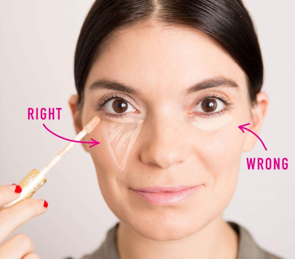 Che khuyết điểm quầng thâm mắt 1