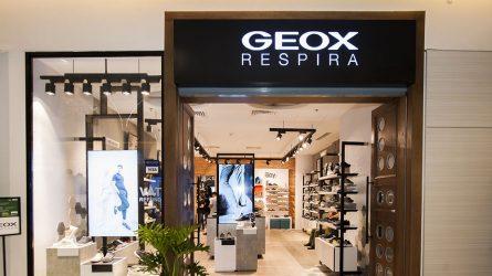 Thương hiệu giày Geox lần đầu trình làng thiết kế cửa hàng mới