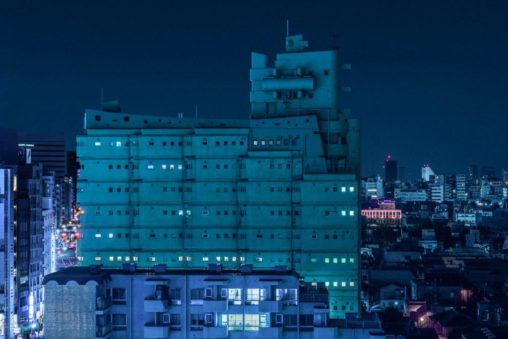 Cảnh Tokyo về đêm 10