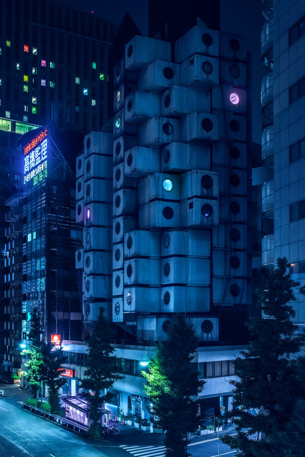 Cảnh Tokyo về đêm 5