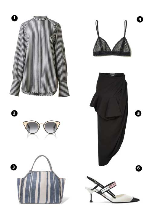 H&M CONSCIOUS EXCLUSIVE/ JIMMY CHOO/ STELLA MCCARTNEY/ H&M CONSCIOUS EXCLUSIVE/ JACQUEMUS/ PRADA