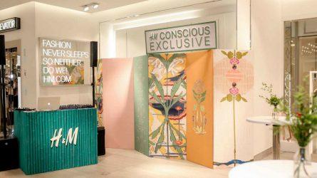 Thương hiệu H&M phát triển thời trang bền vững với BST Conscious Exclusive 2018