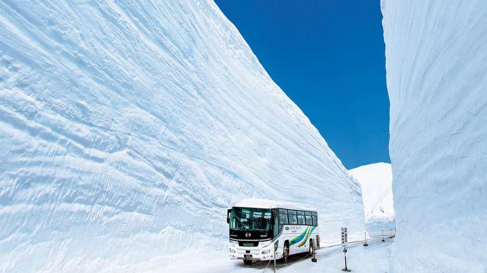 Con đường tuyết Nhật Bản 1