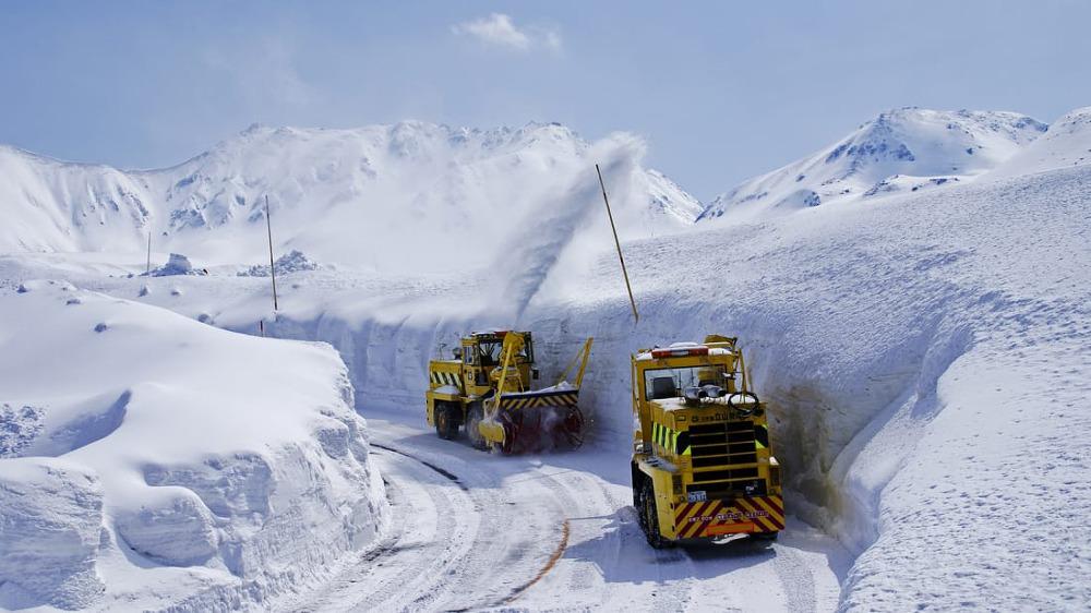 Con đường tuyết Nhật Bản 3
