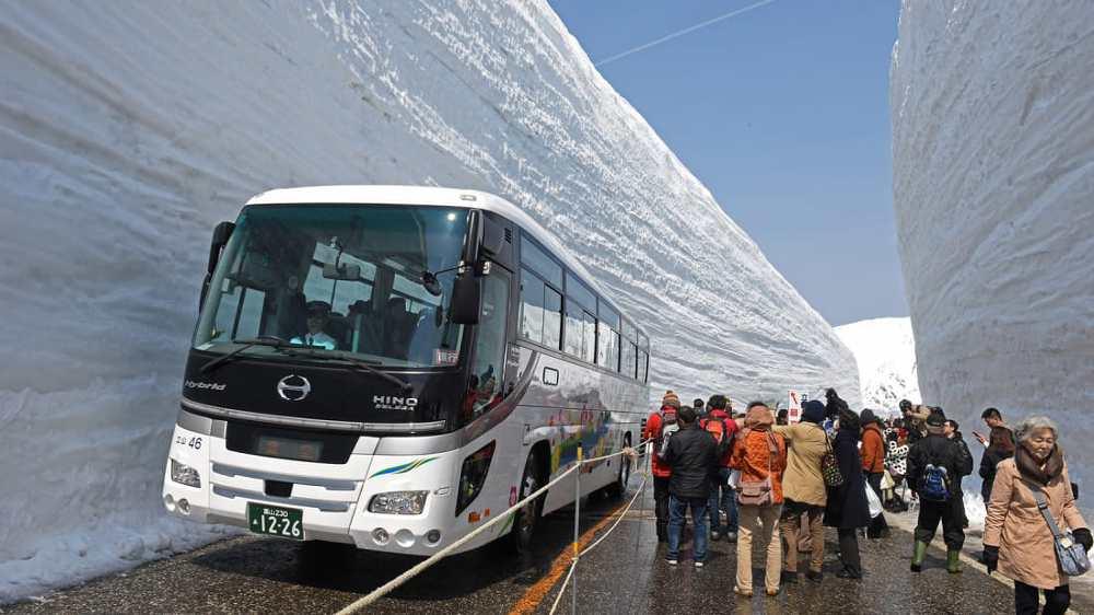 Con đường tuyết Nhật Bản 5