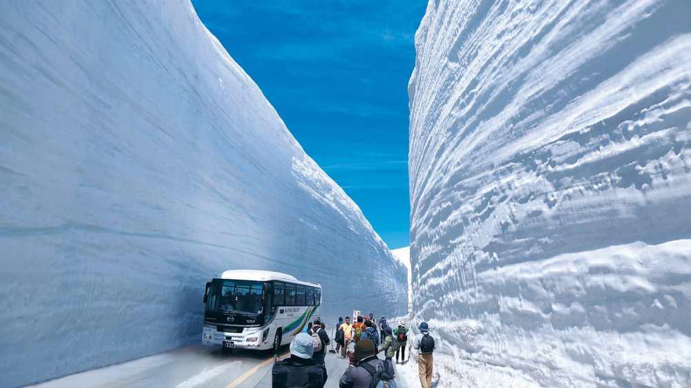 Con đường tuyết Nhật Bản 9