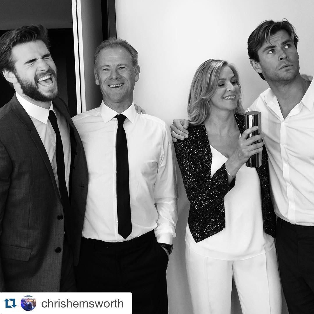 Gia đình Chris Hemsworth 6