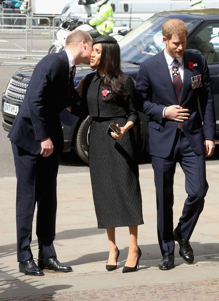 Meghan Markle gặp gỡ Hoàng tử William 1