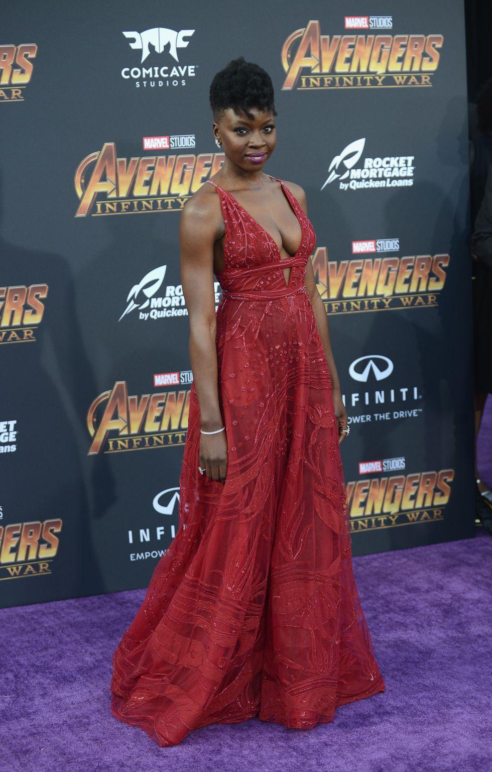 """""""Thảm tím"""" công chiếu phim Avengers : Infinity War quy tụ dàn sao bom tấn 3"""