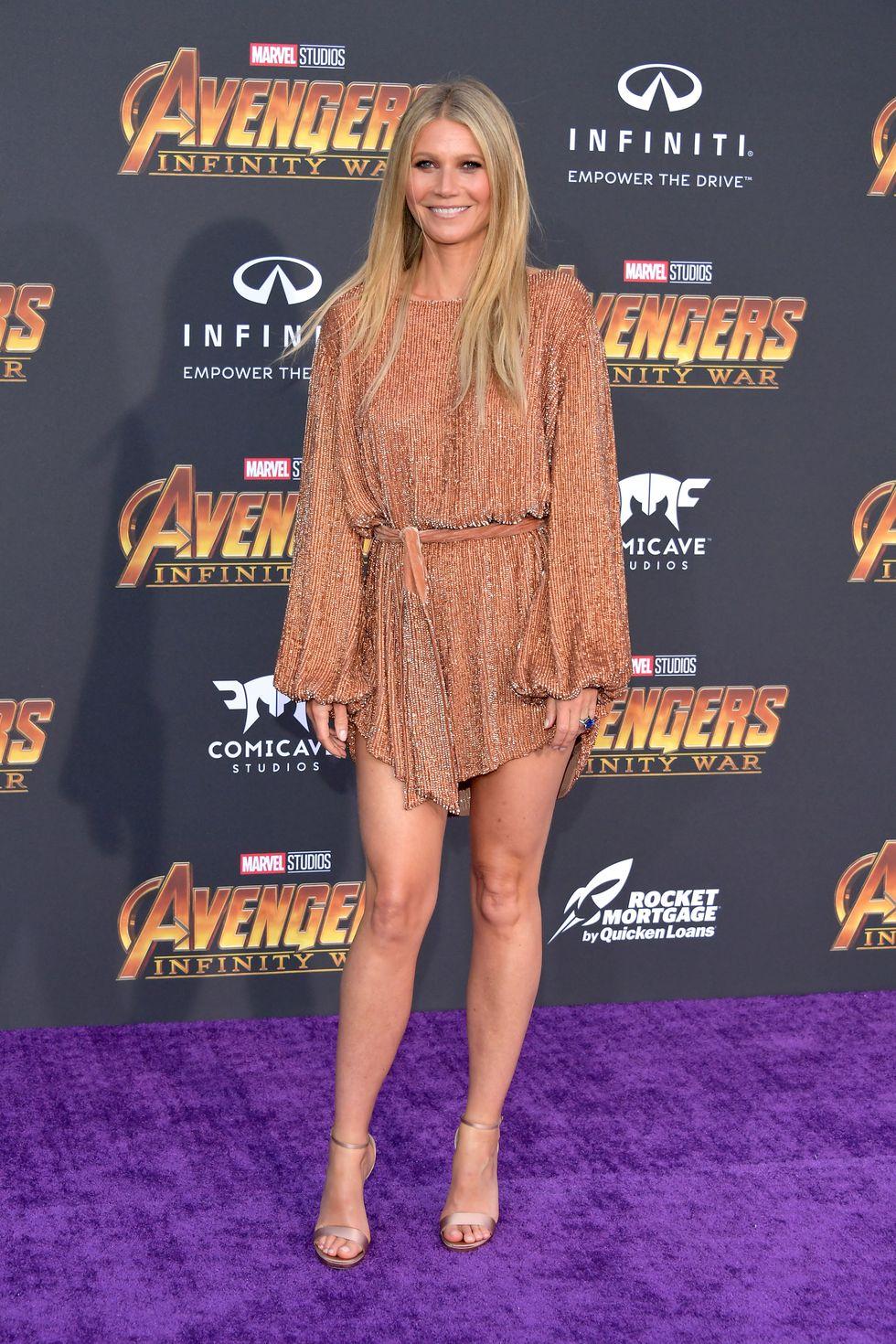 """""""Thảm tím"""" công chiếu phim Avengers: Infinity War quy tụ dàn sao bom tấn"""