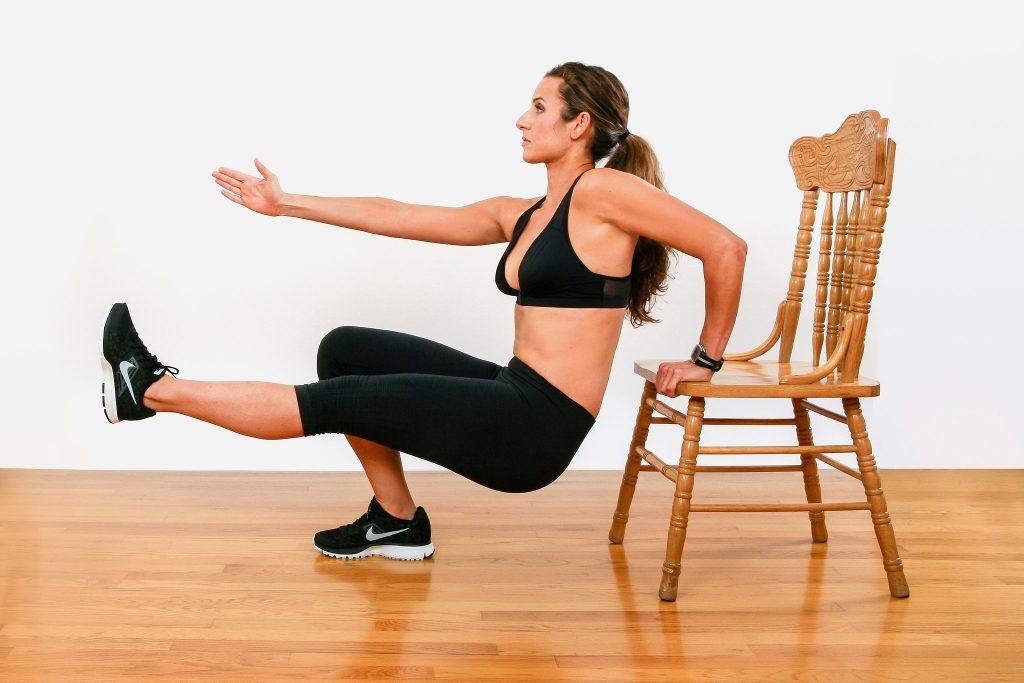tập thể dục tại nhà tricep dips
