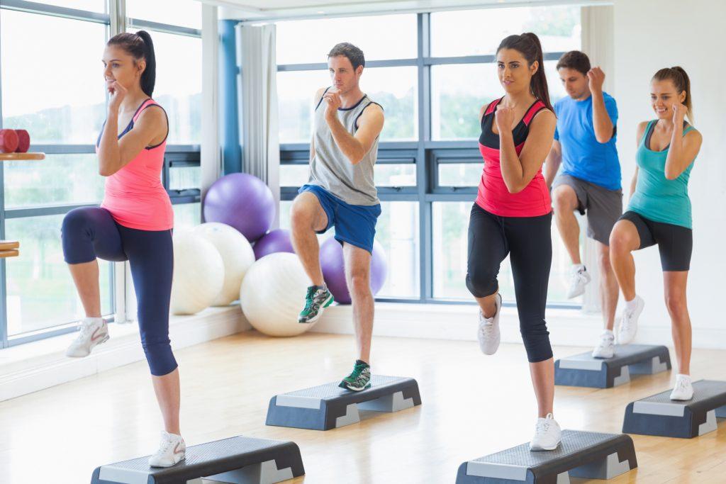 bài tập thể dục aerobics