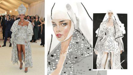 Hành trình Rihanna trở thành ngôi sao thời trang của thảm đỏ Met Gala