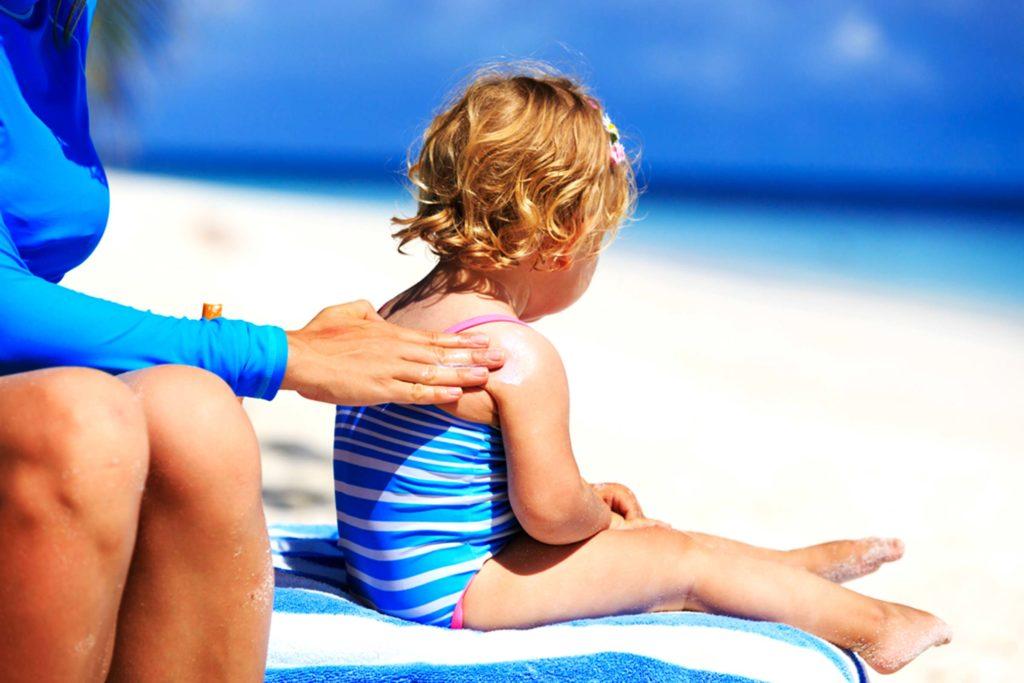 kem chống nắng cho bé 1