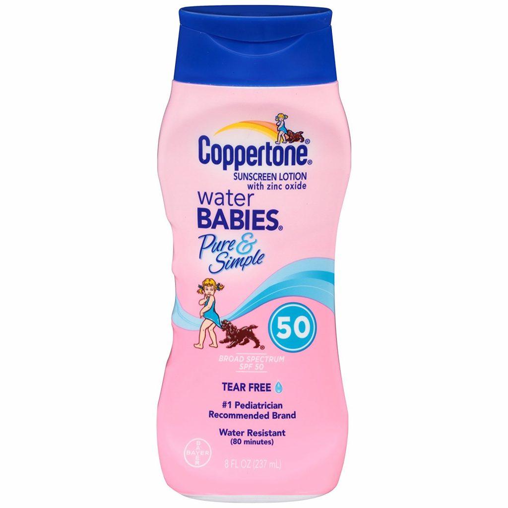 kem chống nắng cho bé water barbies