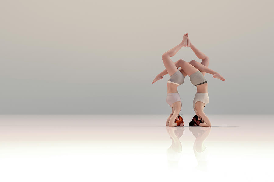 tập thể dục acro yoga