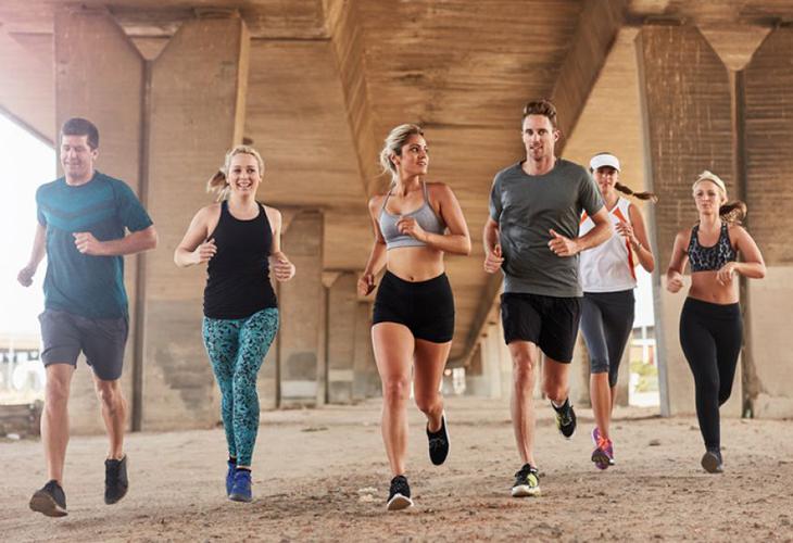 tập thể dục run club