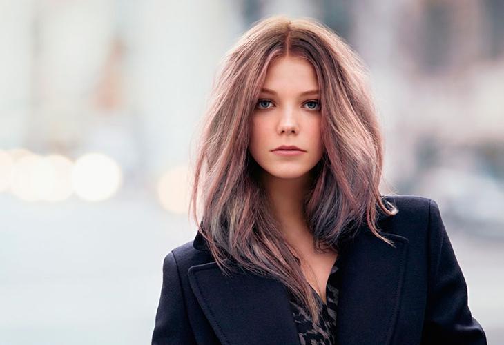 tóc màu vàng hồng tóc
