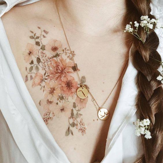 hình xăm hoa 1