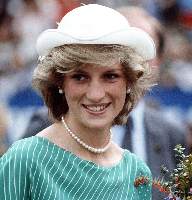 kiểu tóc đơn giản Diana 5