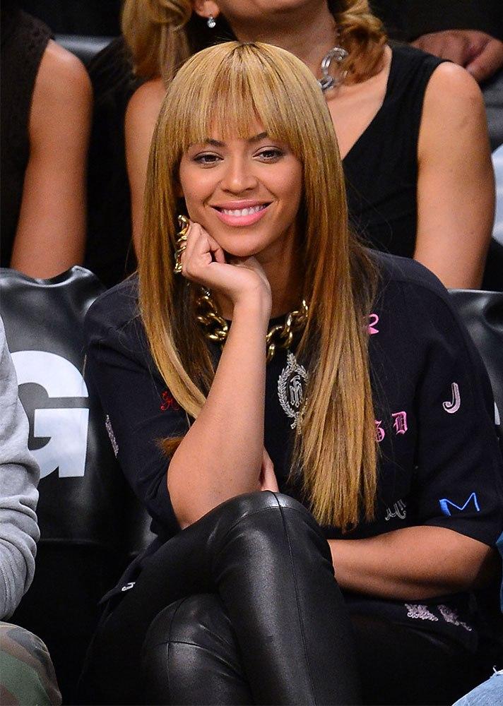tóc mái ngang Beyonce