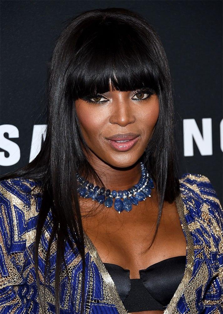 tóc mái ngang Naomi