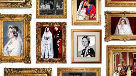 Đám cưới cổ tích và những chiếc váy cưới huyền thoại của hoàng gia Anh