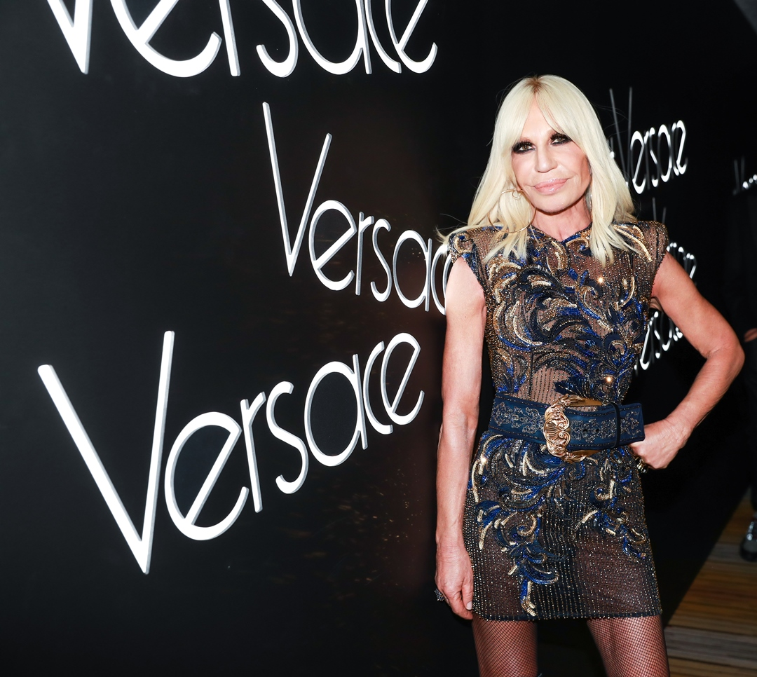 Donatella Versace - elle vietnam