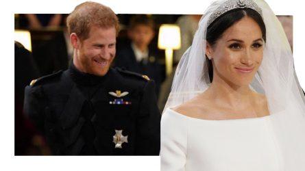 Công nương Meghan Markle mặc đầm cưới của thương hiệu Givenchy