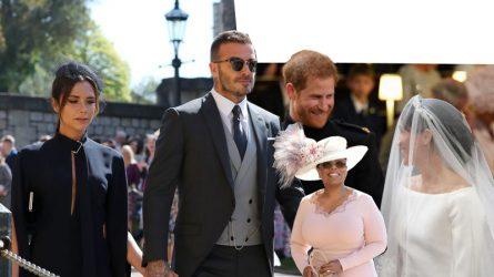 Victoria Beckham, Oprah Winfrey và khách mời mặc thanh lịch khi đến dự đám cưới Hoàng gia Anh