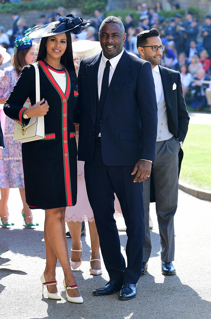 trang điểm dự tiệc Idris Elba