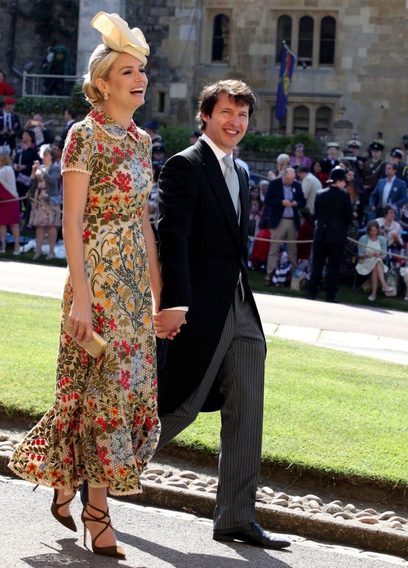 trang điểm dự tiệc hoàng gia James Blunt
