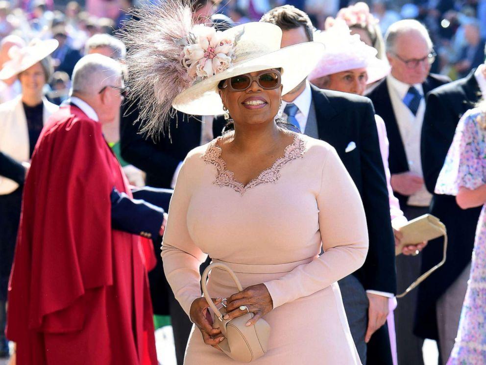trang điểm dự tiệc hoàng gia Oprah