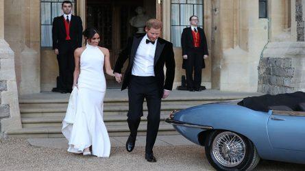 Công nương Meghan Markle gợi cảm trong chiếc váy cưới thứ hai từ NTK Stella McCartney