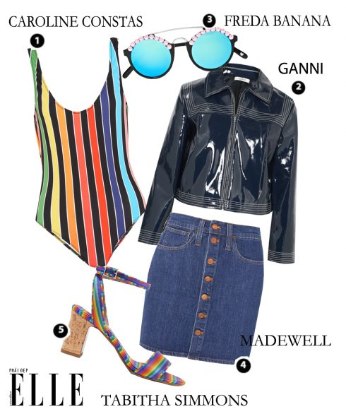 Look2: Caroline Constas – Ganni – Freda Banana – Madewell – Tabitha Simmons