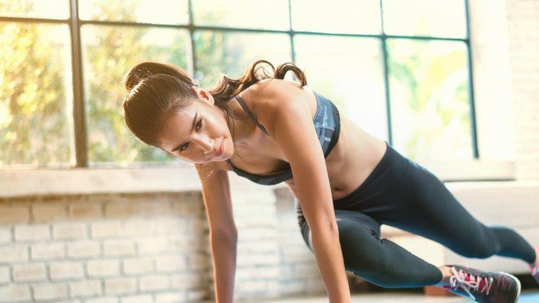 chăm sóc da tập thể dục