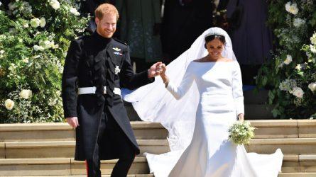 Hoàng tử Harry cảm ơn giám đốc sáng tạo của Givenchy vì thiết kế váy cưới đẹp cho Meghan