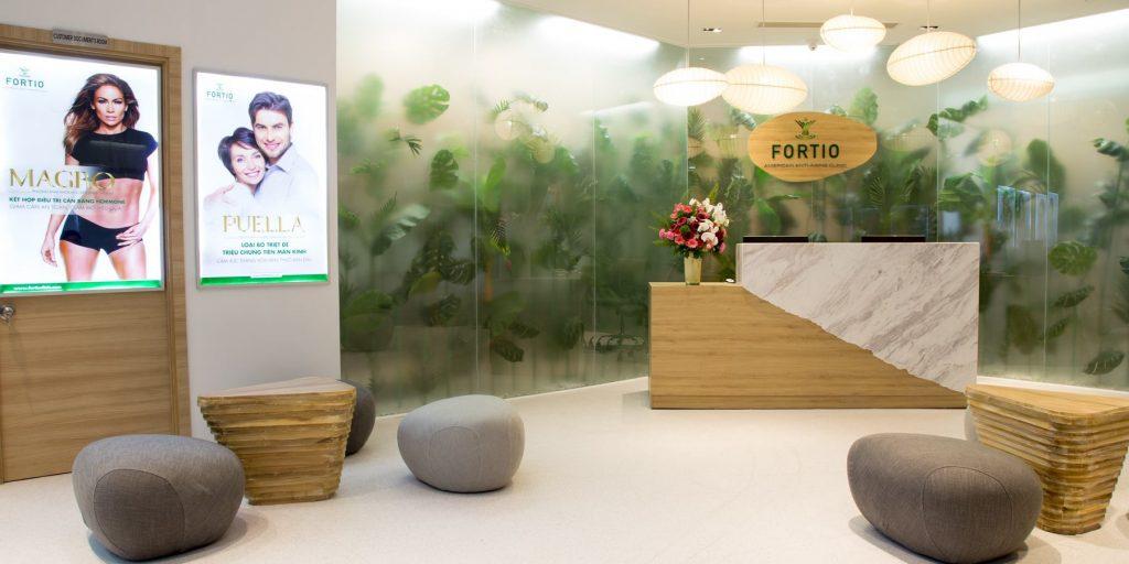 không gian fortio clinic