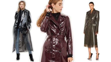 Không những chất lừ, những chiếc áo khoác này còn là ''trợ thủ'' đắc lực mùa mưa