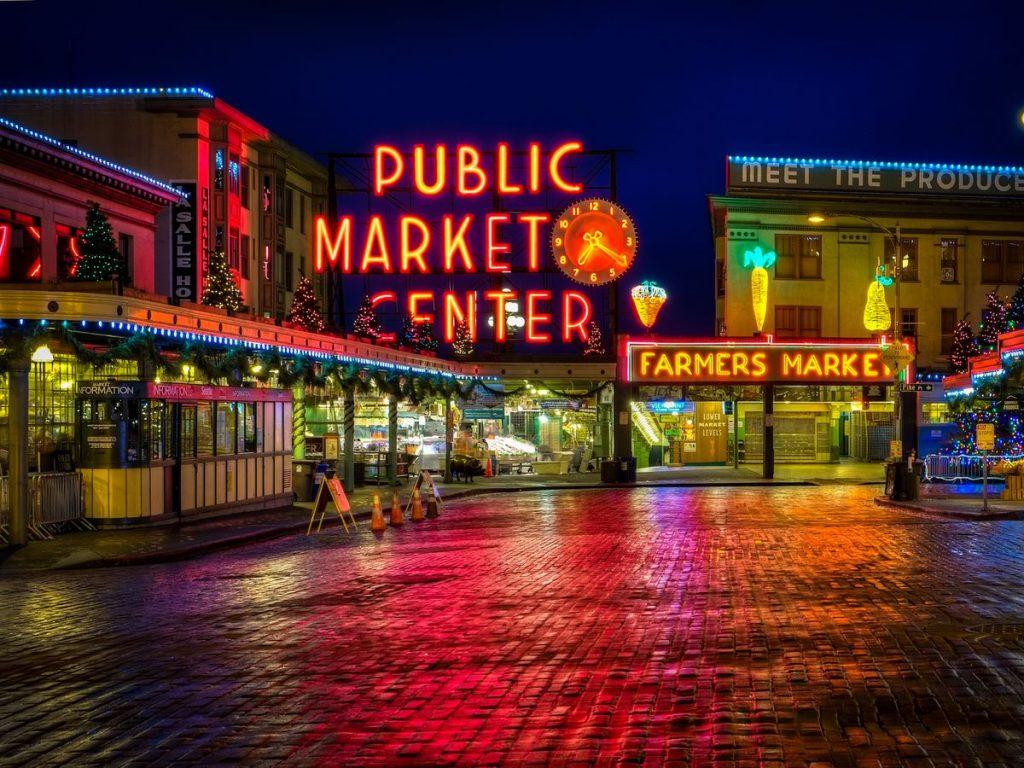 Hình khu chợ 3
