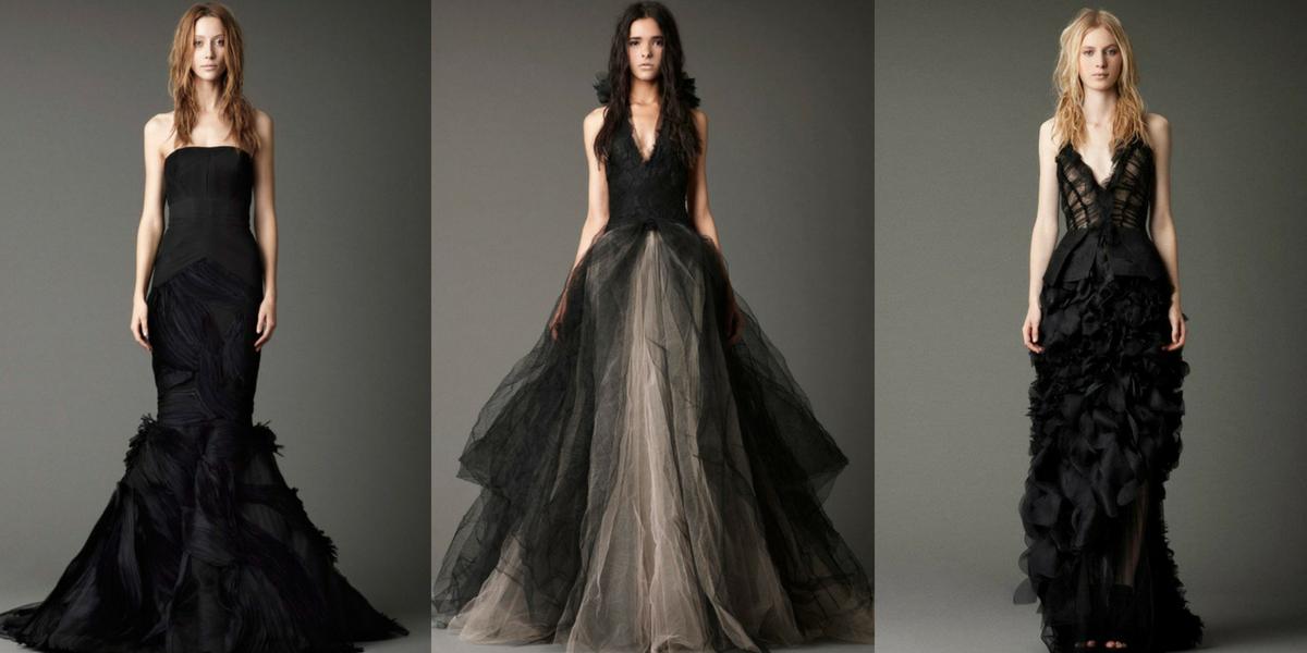 Váy cưới đen