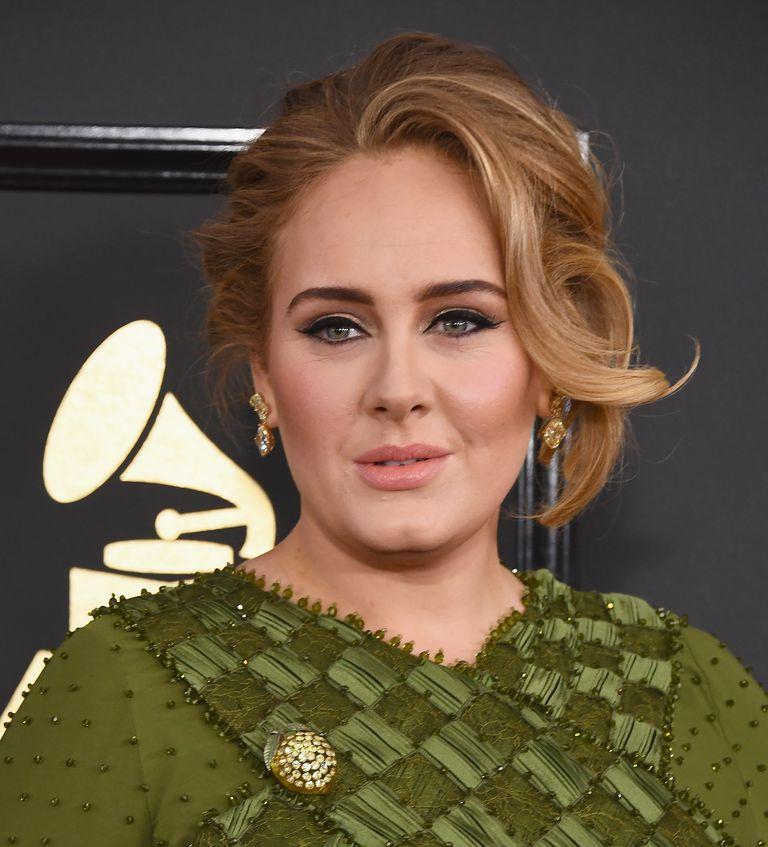 dáng lông mày đẹp Adele