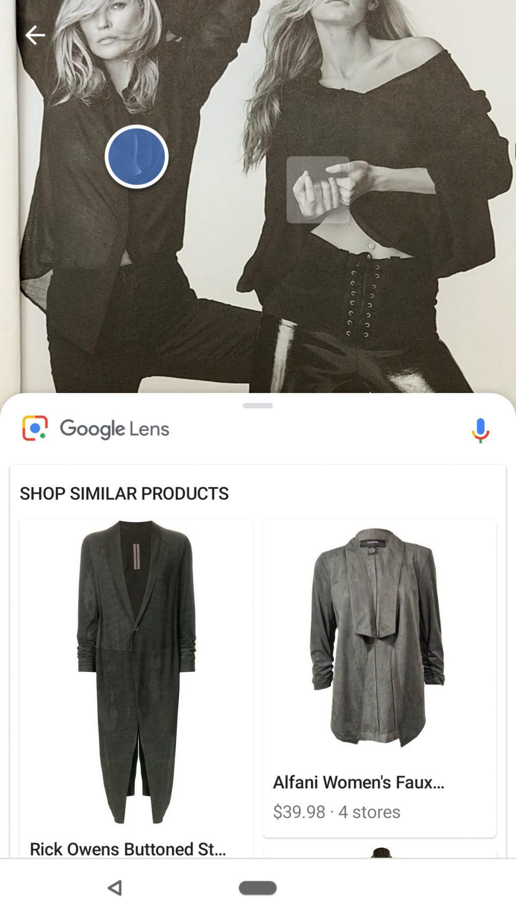 Ứng dụng thời trang trên Google 3