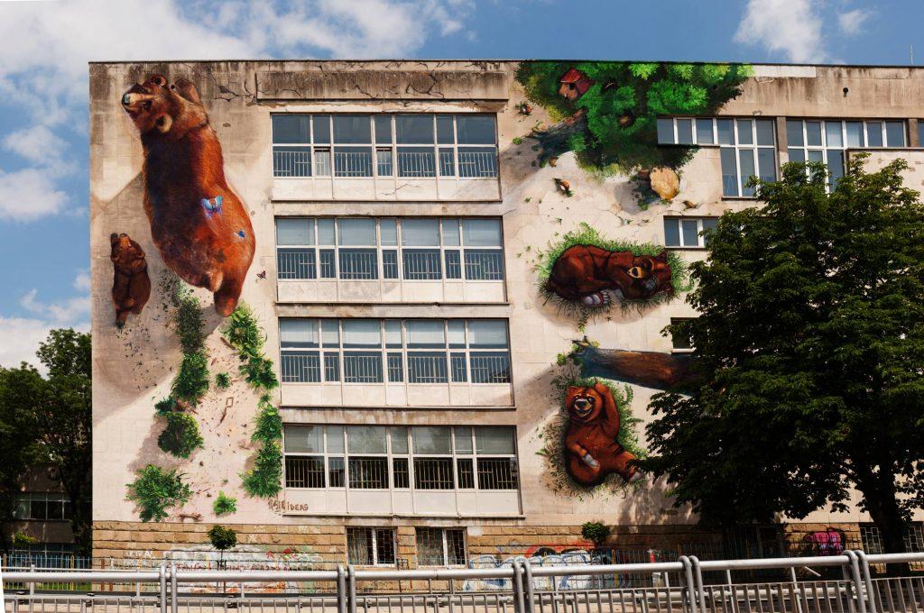 Nghệ thuật đường phố 1