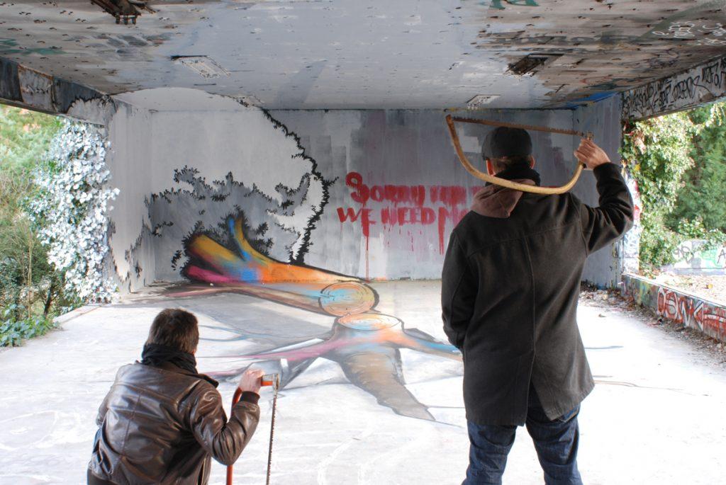 Nghệ thuật đường phố 4
