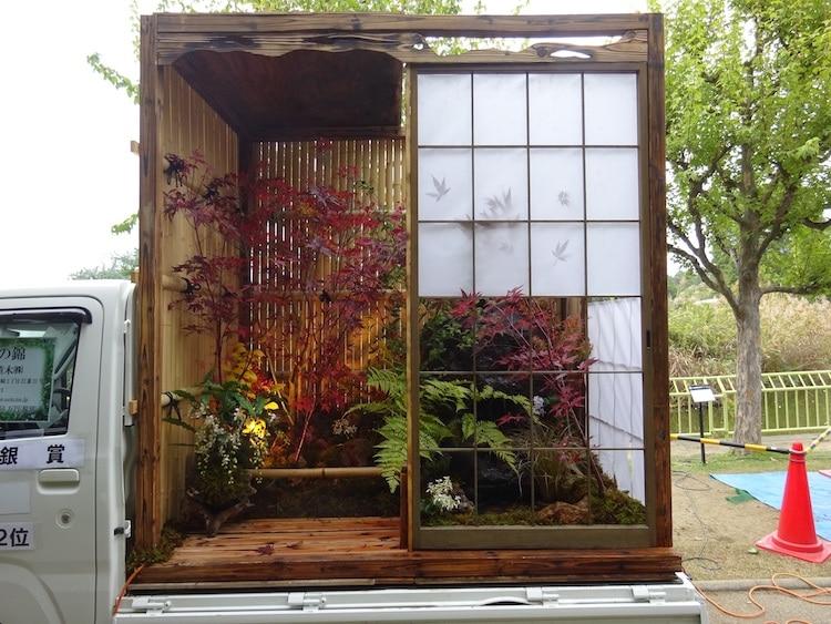 khu vườn xe tải 1